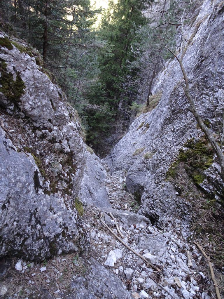 Inside the Kleine Klause