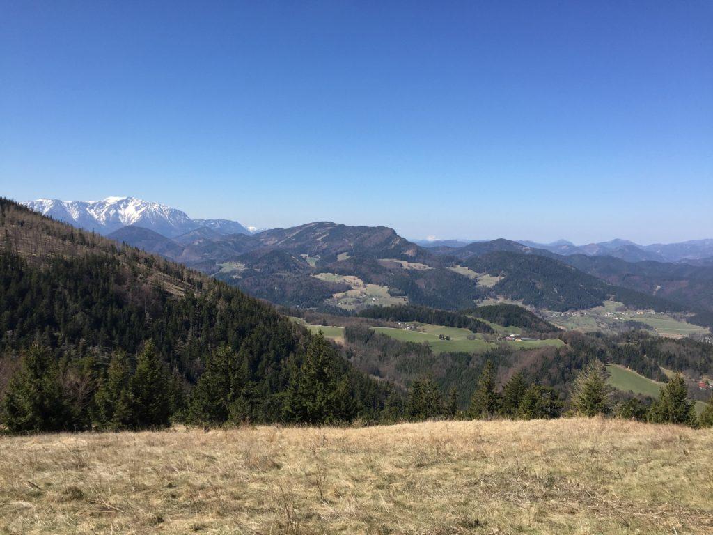 Schneeberg and Ötscher view