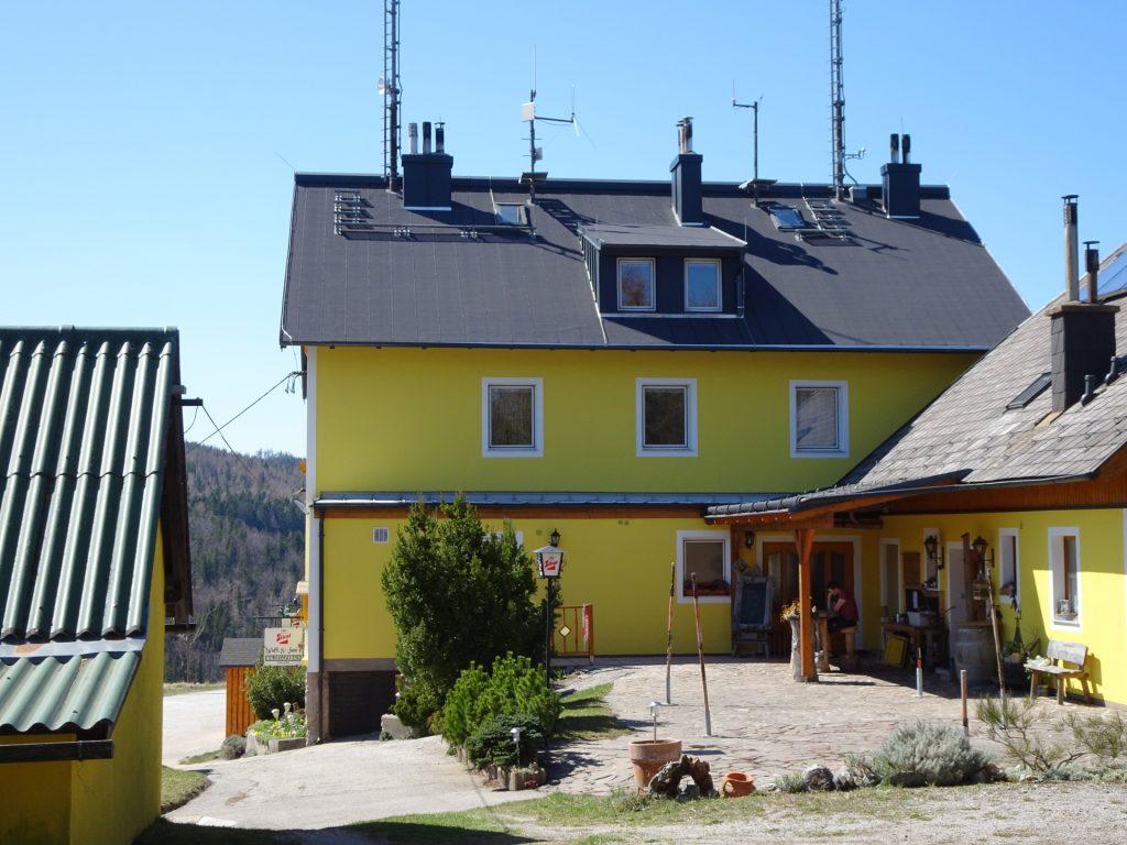 """Pass by the Waldeggerhaus towards """"Grosse Klause"""""""