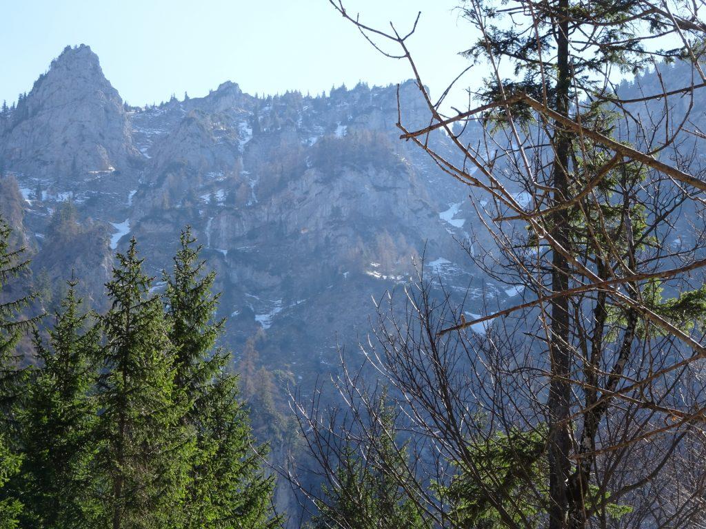 View from trail towards Hoyosteig