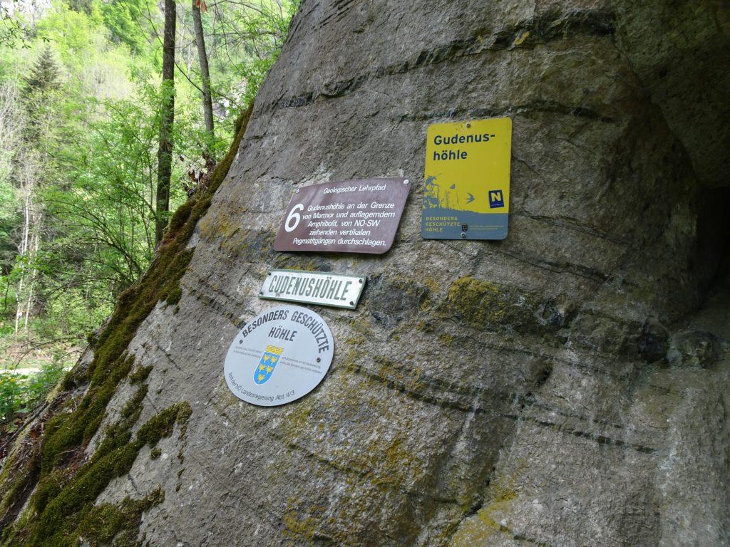 The Gudenus cave