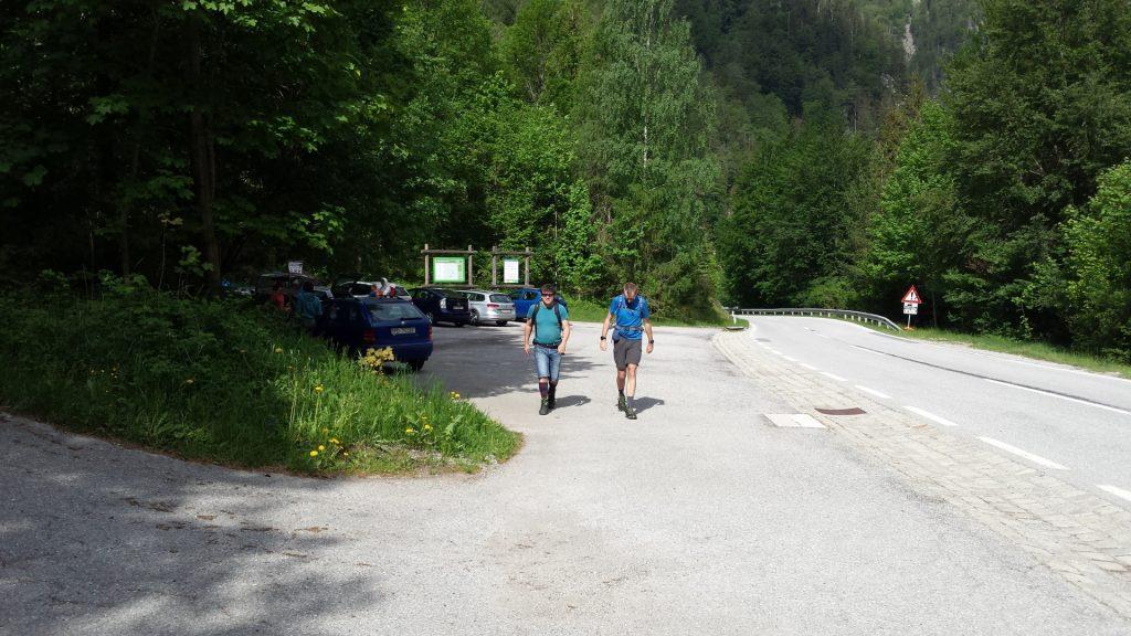 """Tour start at Parking """"Rudolfsteig"""""""