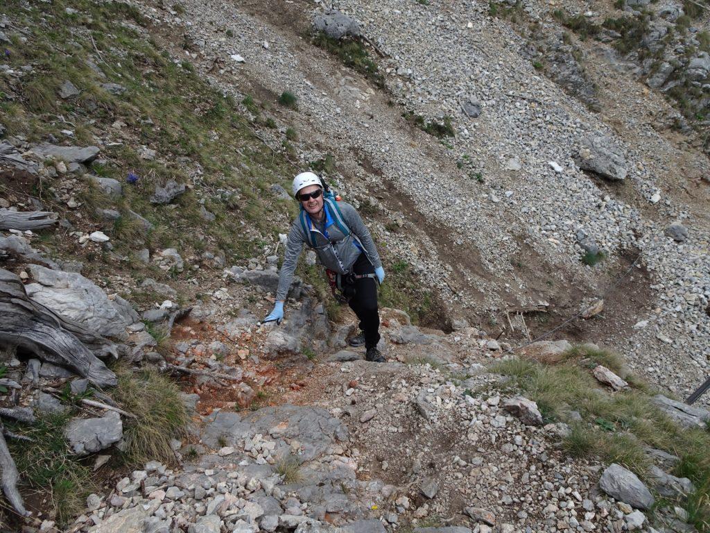 Herbert on the trail