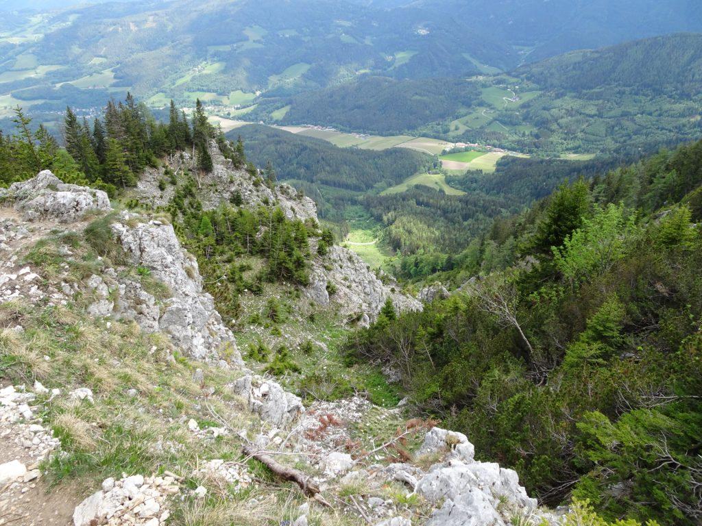 """View from """"Törlweg"""""""