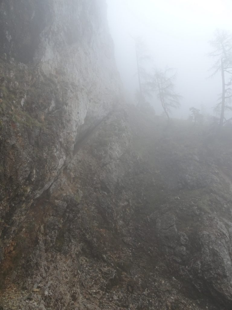 The channel in pure fog