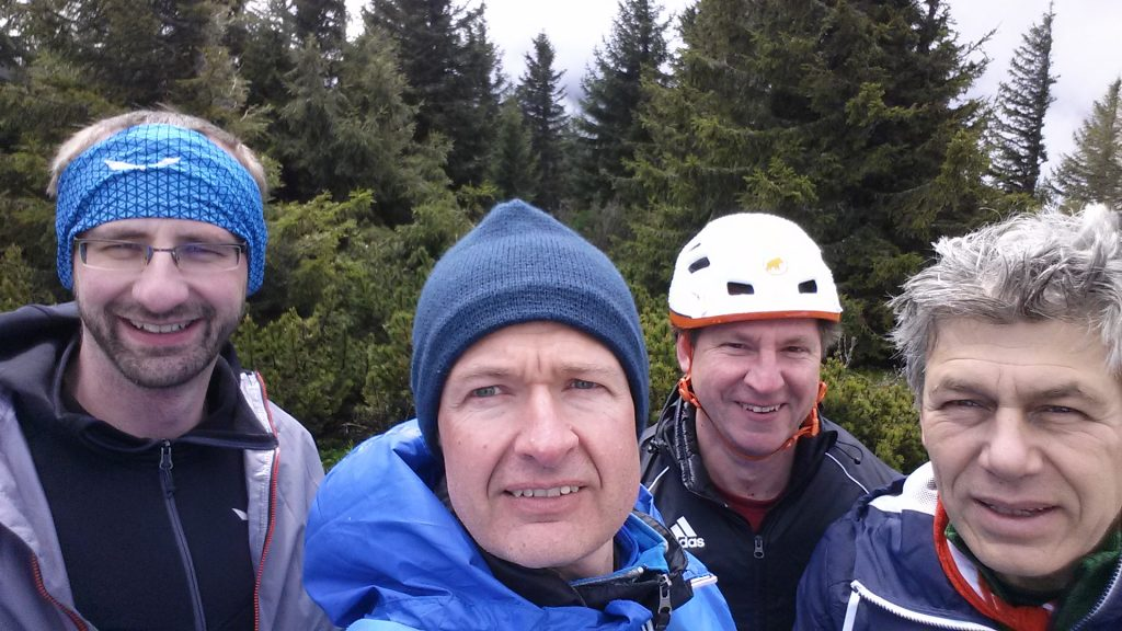 Group picture after the ferrata