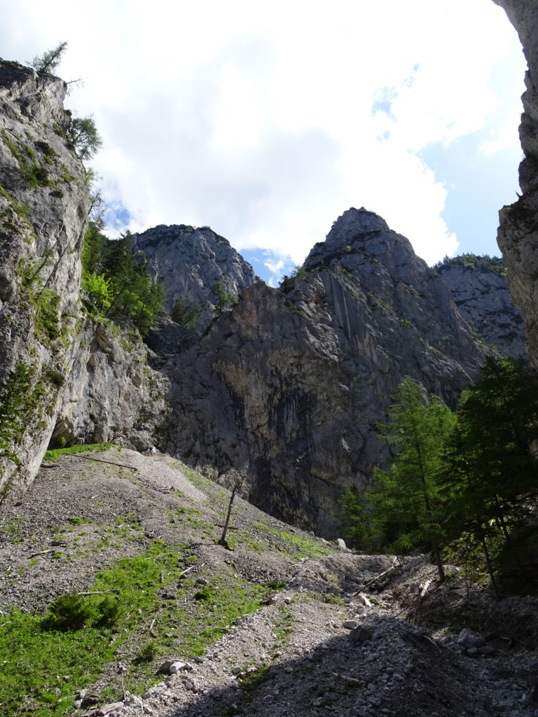 Approach trail towards Wildfährte