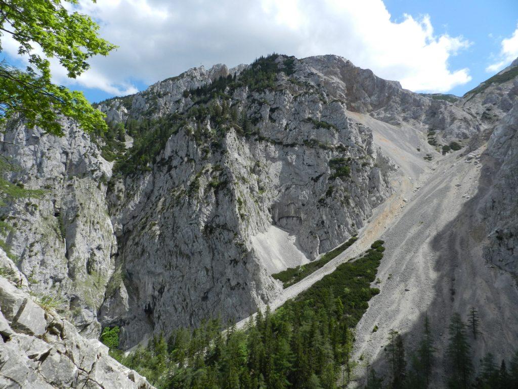 View back towards Habsburghaus