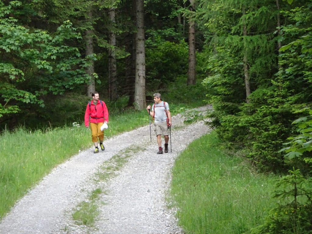 Predrag and Nader on the last meters
