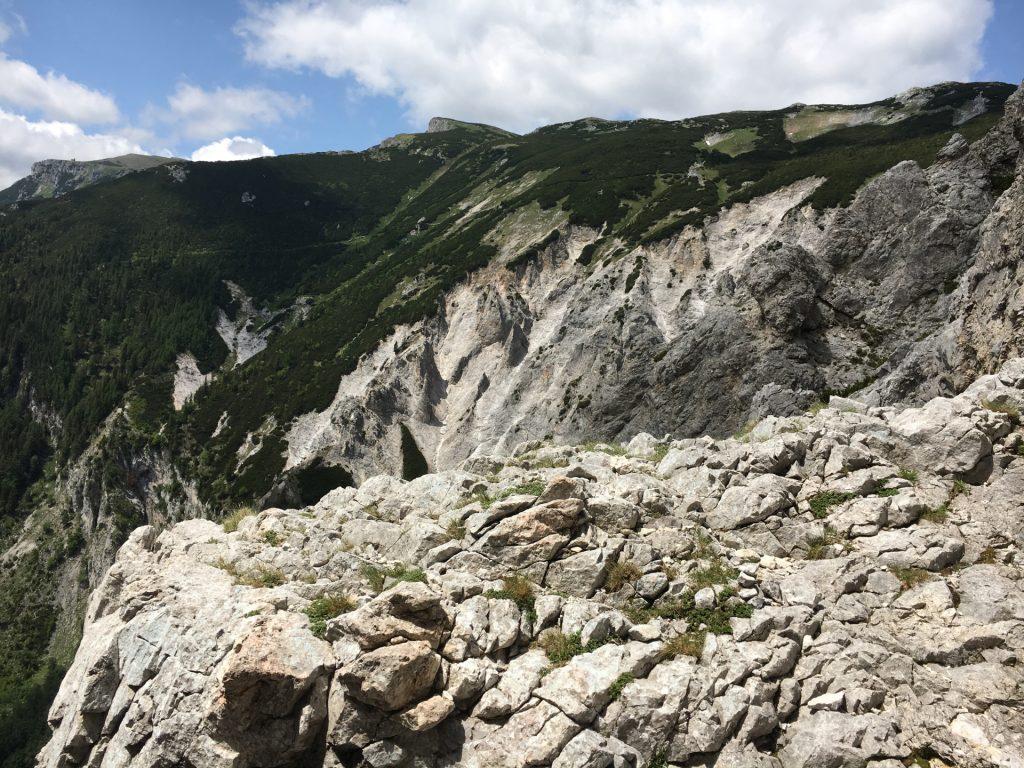 View towards Neue Seehütte