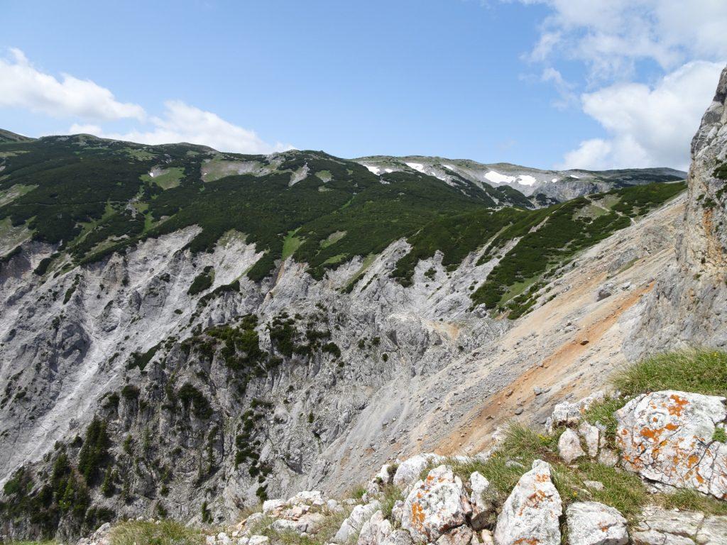 View towards Rax / Heukuppe