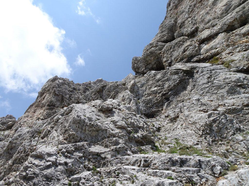 Upper part of Haidsteig