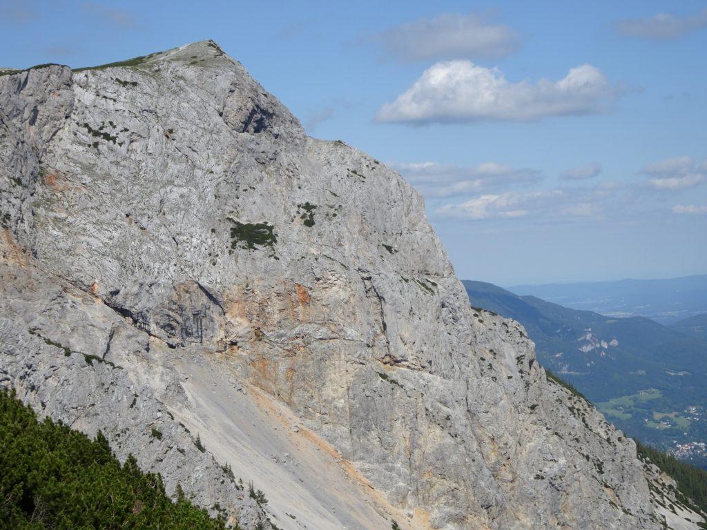 View towards Haidsteig from the hiking trail (Göbl-Kühn-Steig)