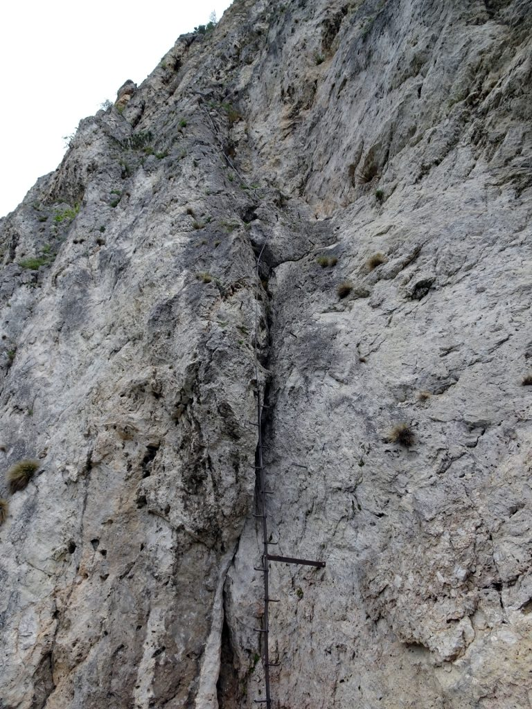 """The first meters of the """"Pittenaler Steig"""""""