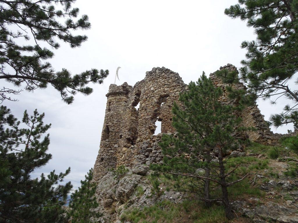 """The ruin of """"Türkensturz"""""""