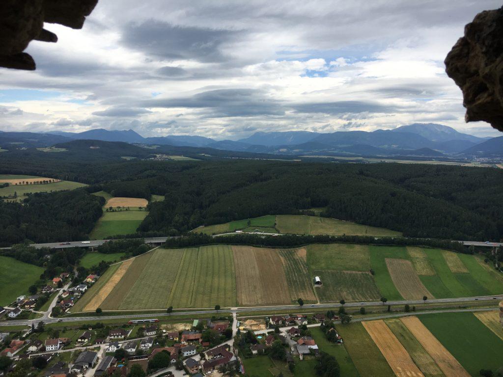 "View towards Rax / Schneeberg from ""Türkensturz"""