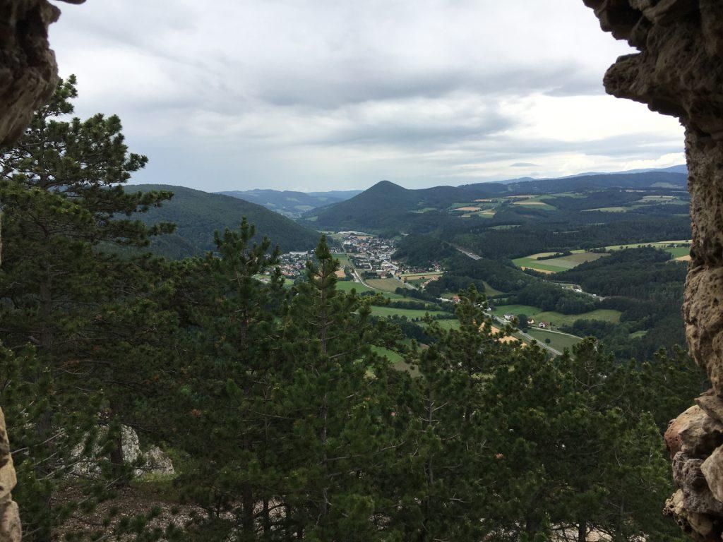 """View from """"Türkensturz"""""""