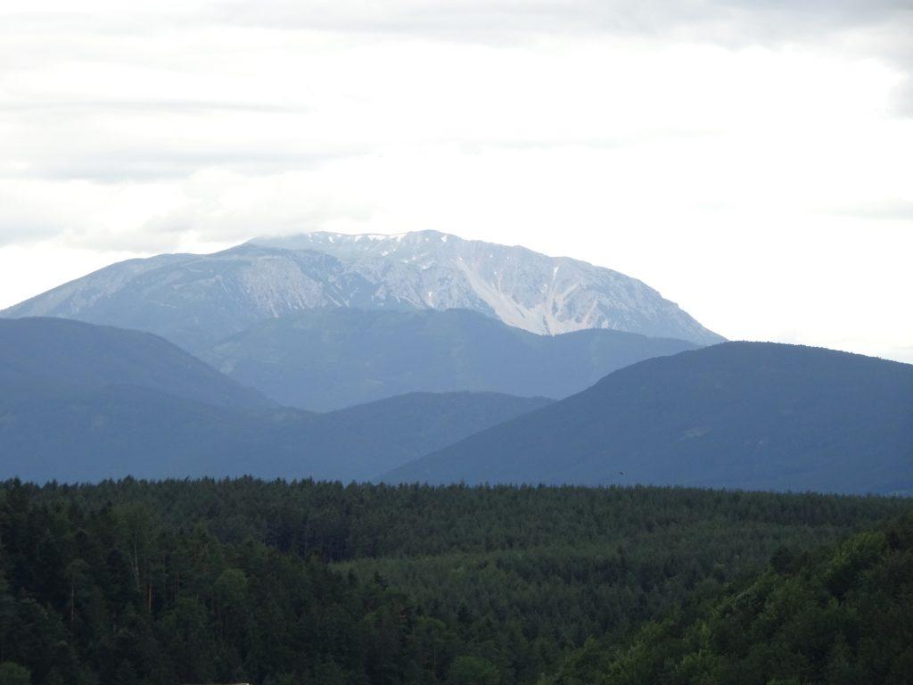 "View towards Schneeberg from ""Lutherkanzel"""