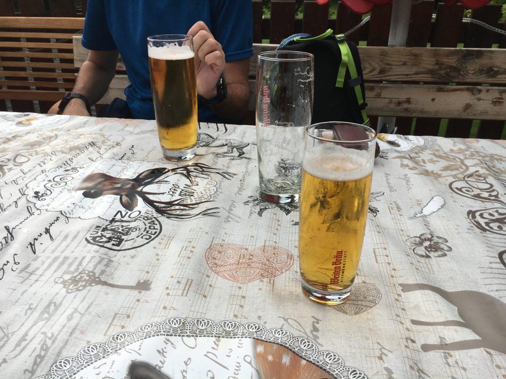 Refreshment in Seebenstein
