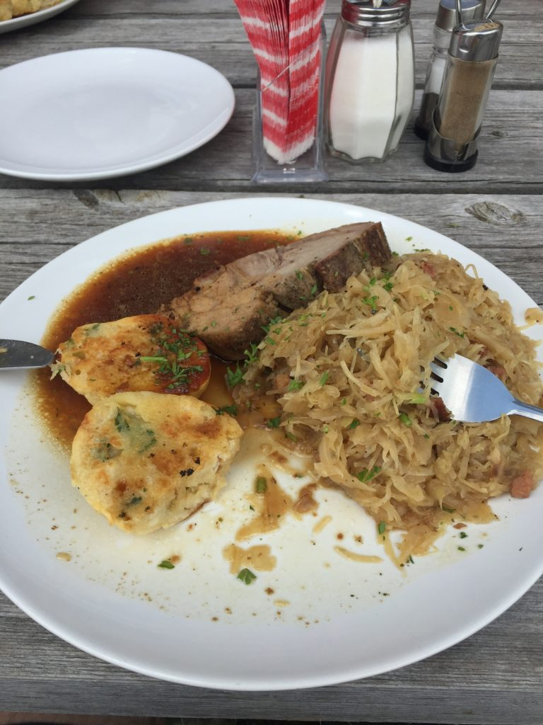 "Tasty ""Schweinsbraten"" at Habsburghaus"