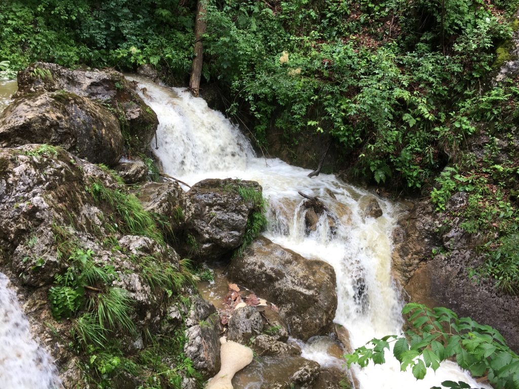 """One of the many waterfalls of """"Mixnitzbach"""""""