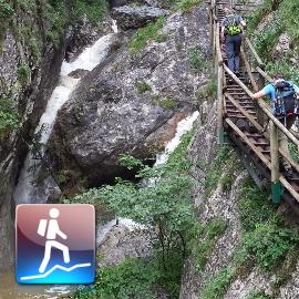 """Hiking Tour: """"Bärenschützklamm (Mixnitz)"""""""
