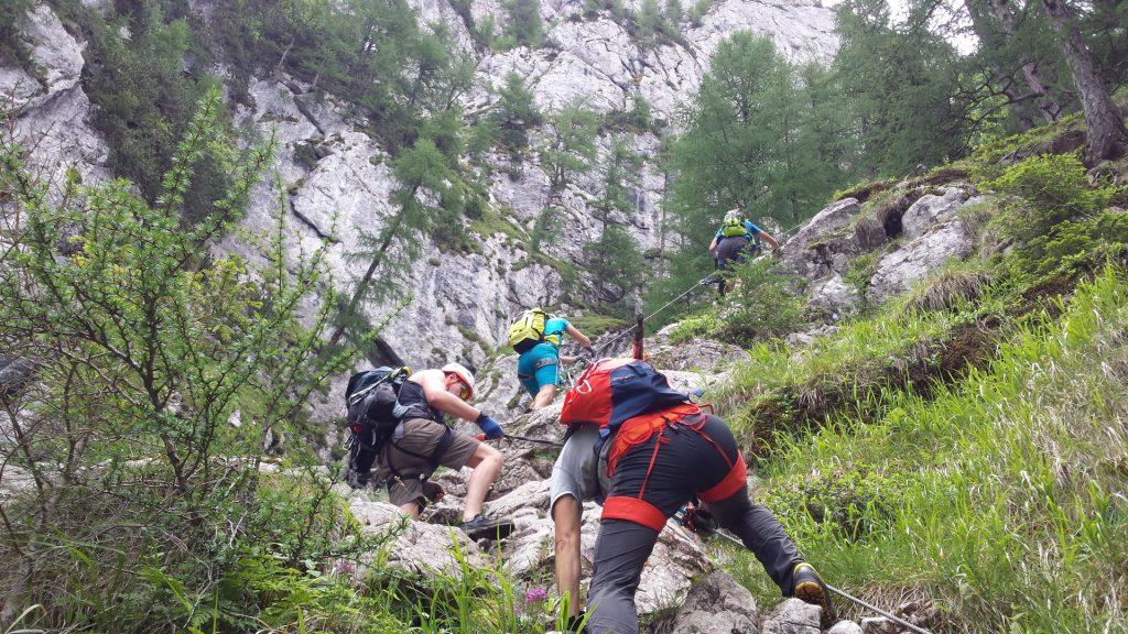 Climbing up :-)