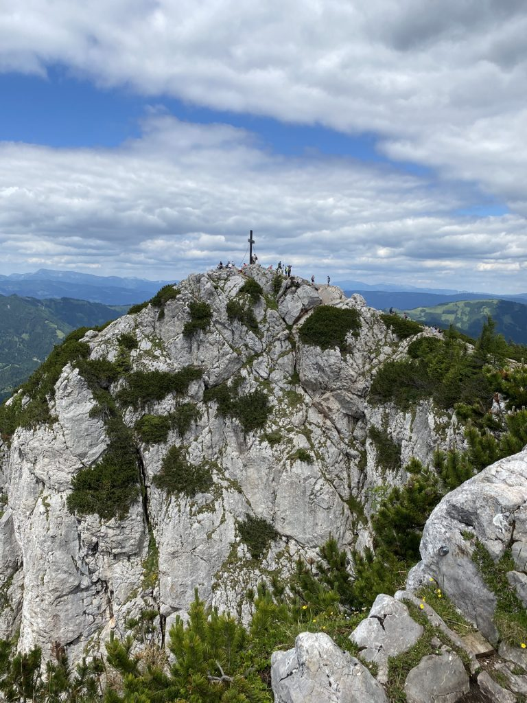 The peak of Hochlantsch