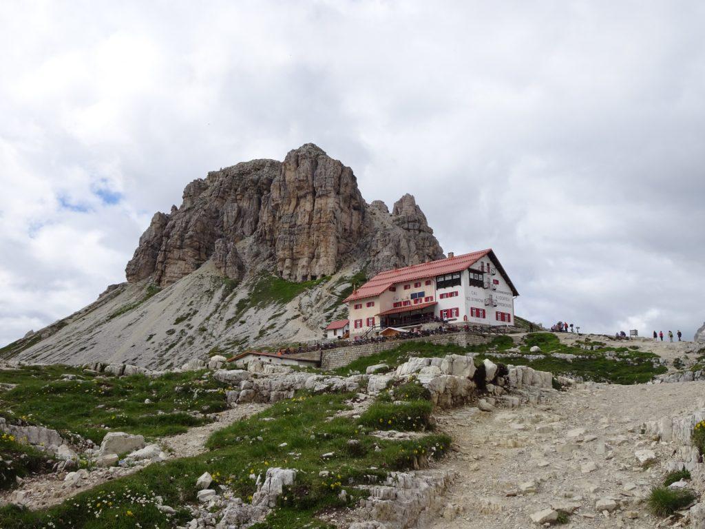"""Towards the """"tre cime hut"""""""