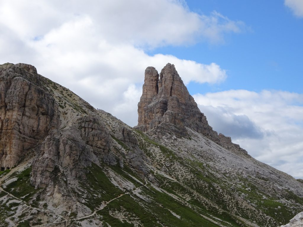 """View from the """"tre cime hut"""""""