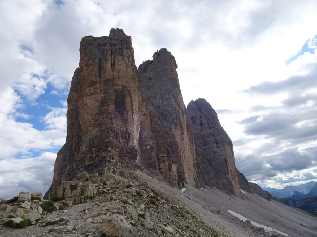 """Towards the first of the """"tre cime"""""""