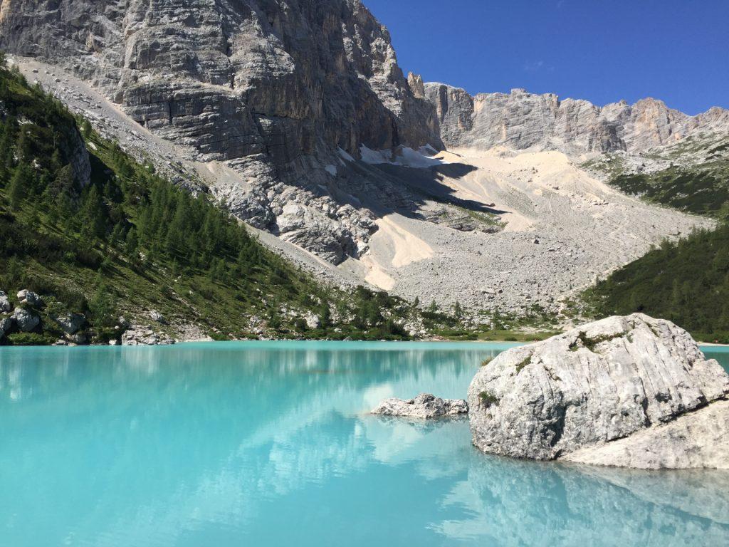 "The ""Sorapis lake"" (Largo del Sorapis)"