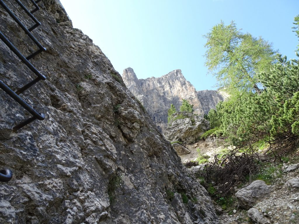 View from the ferrata