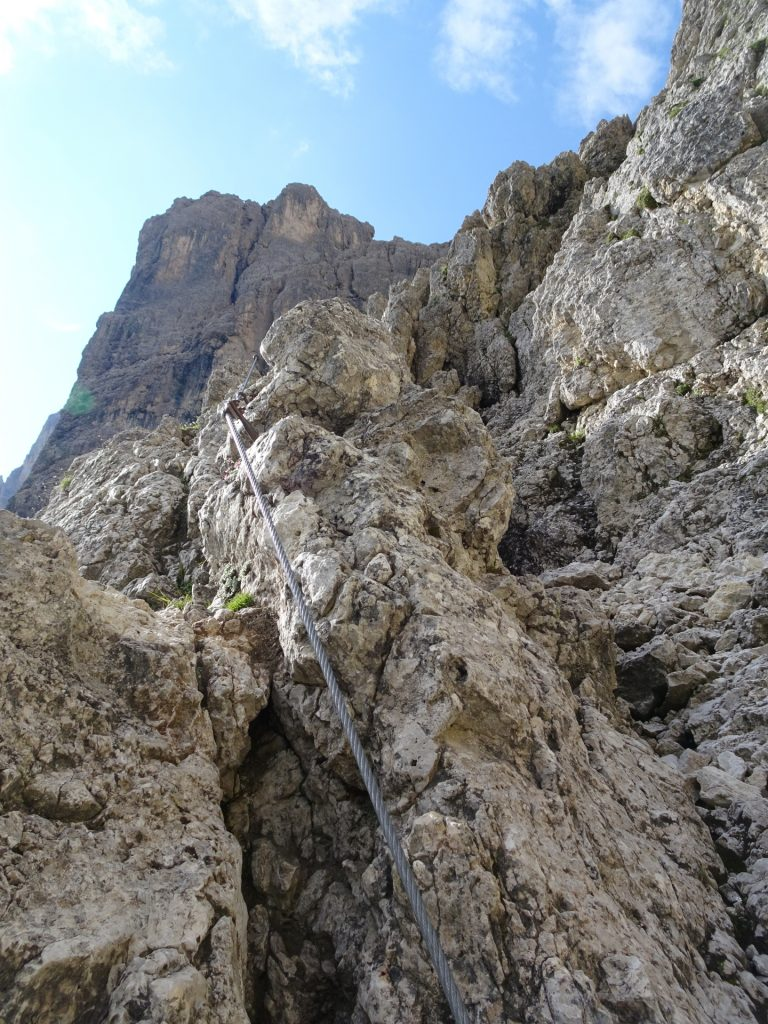 At the ridge (B)