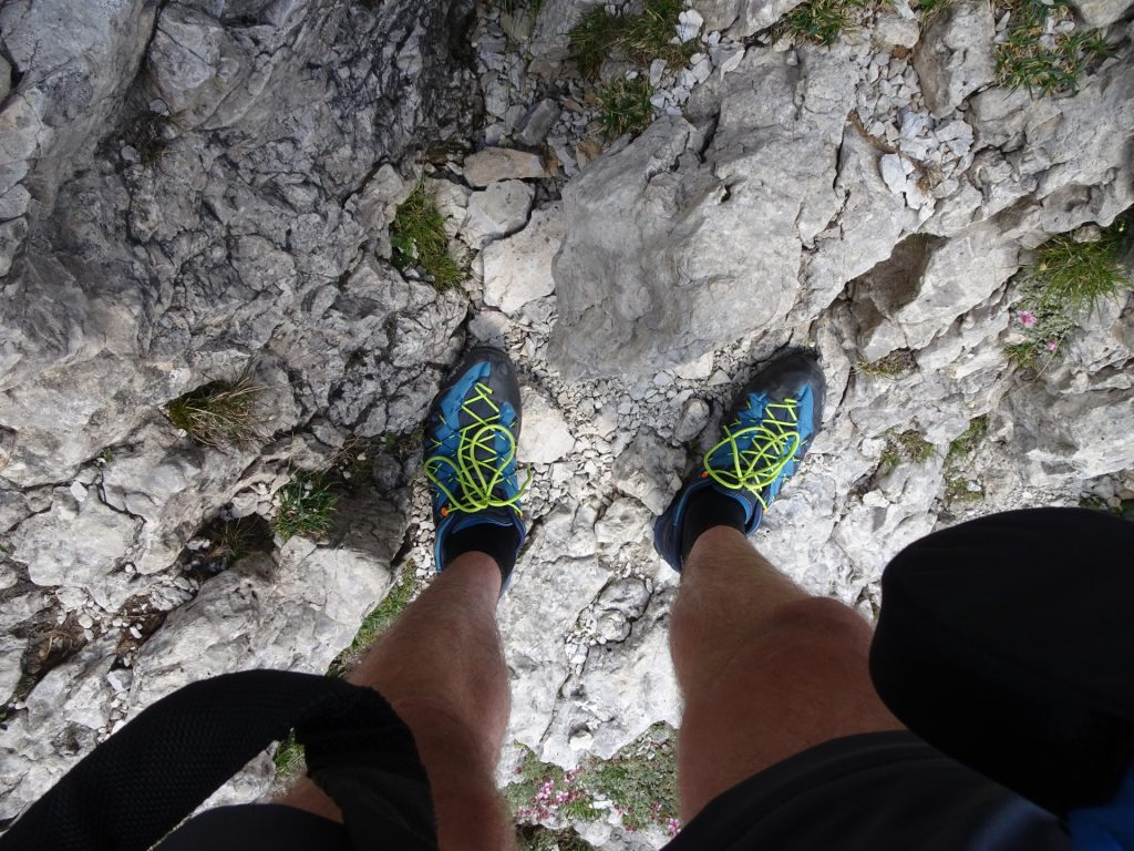 I truly love these shoes (Salewa Wildfire Edge with climbing lace)