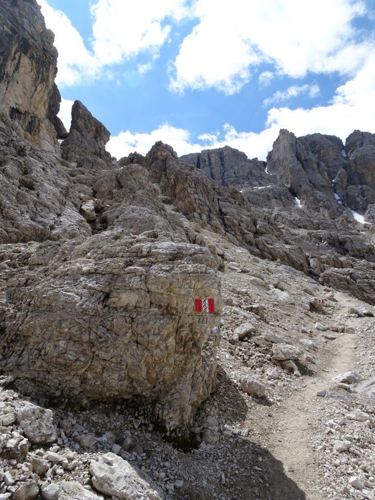 Route 666 towards Pisciadù