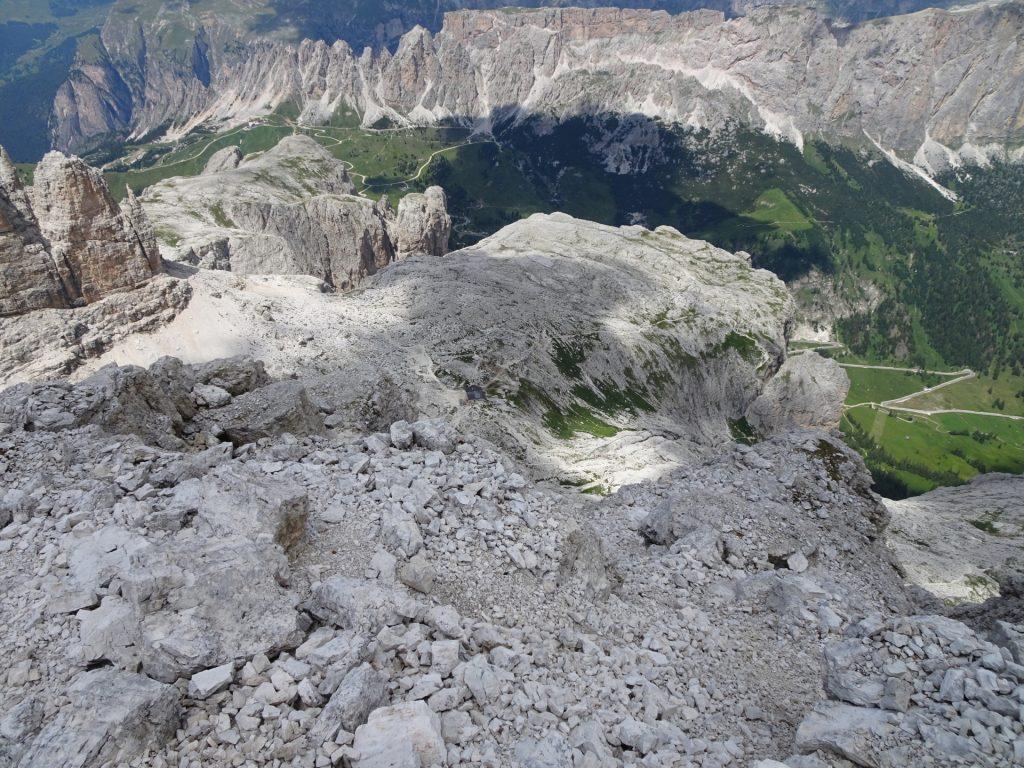 View from Pisciadù