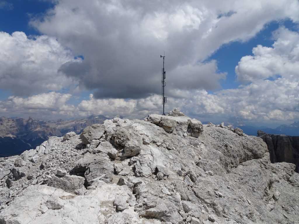 Weather station at Pisciadù