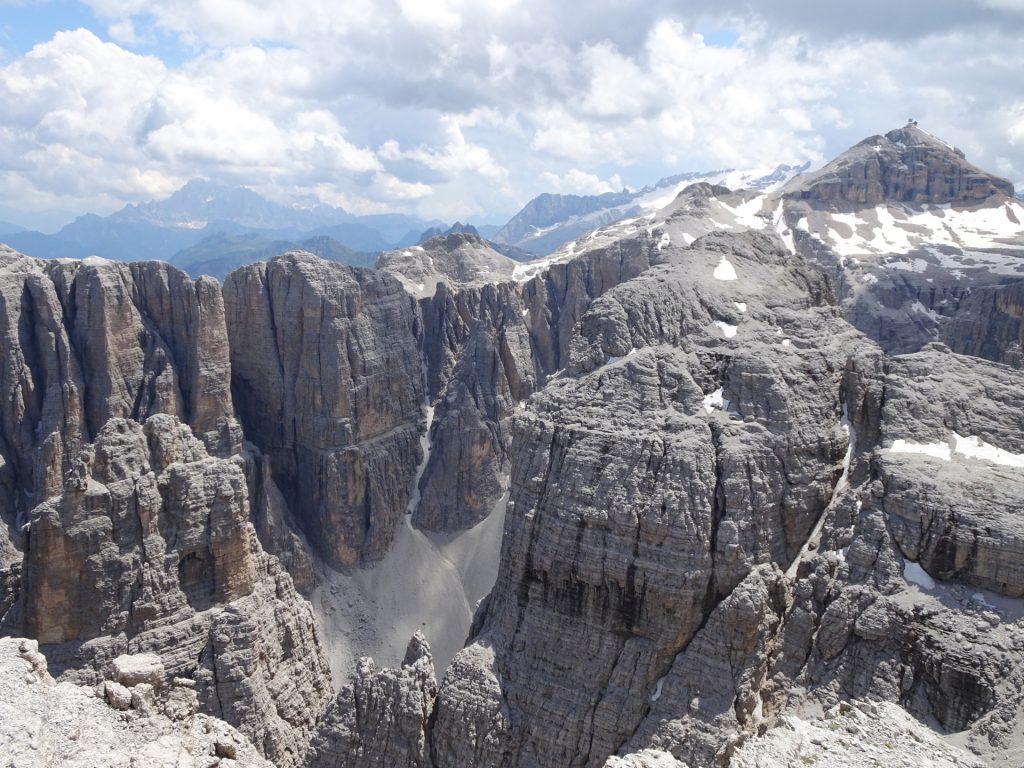 Stunning view from Pisciadù