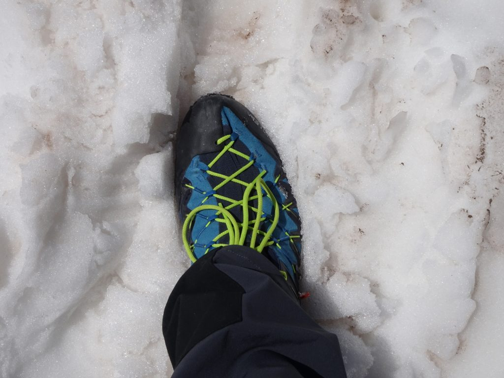 Those shoes are amazing also on snow!