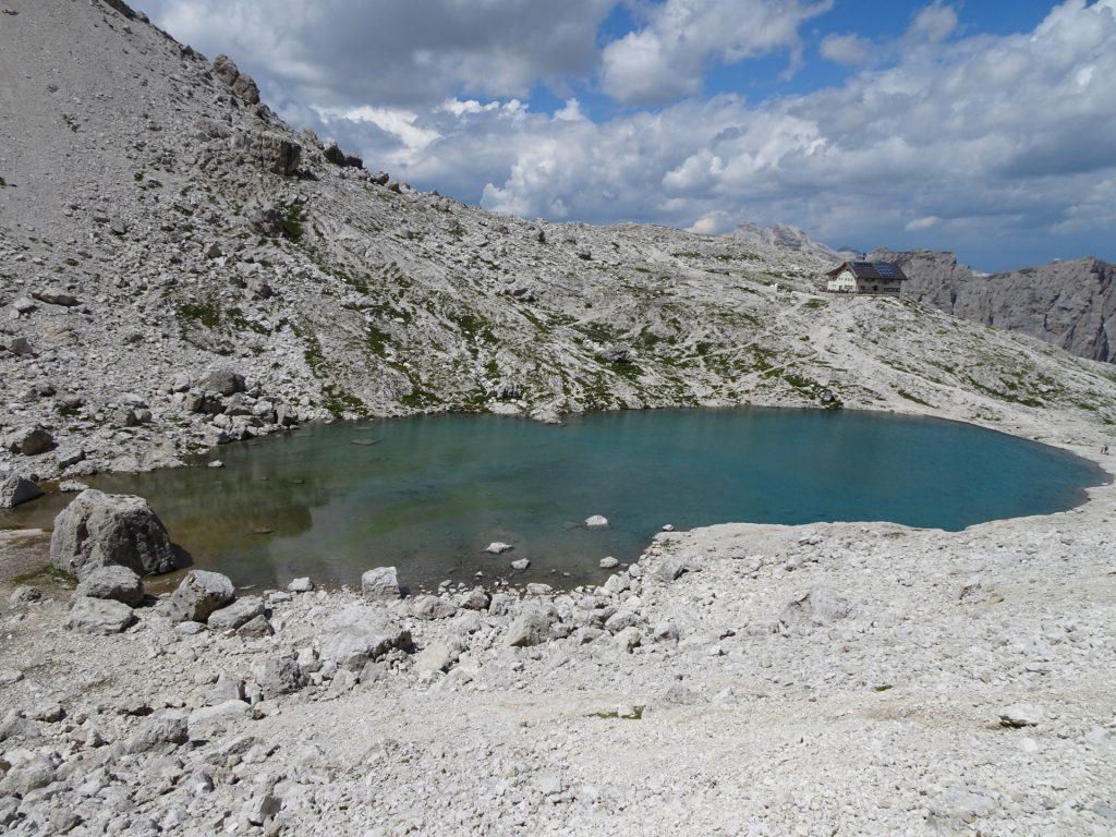 Close to the Pisciadù hut