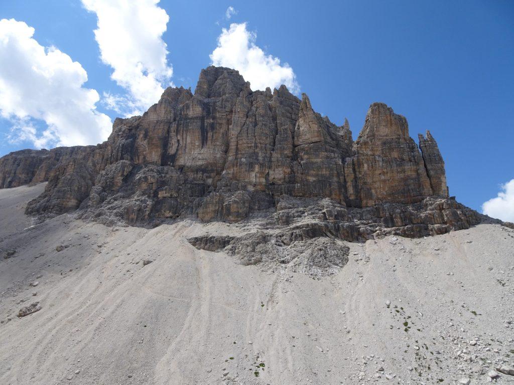 "Giant rocks at the left side (""Sas da Lech"")"