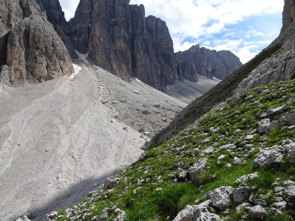 """View back into the """"Mittagstal"""""""