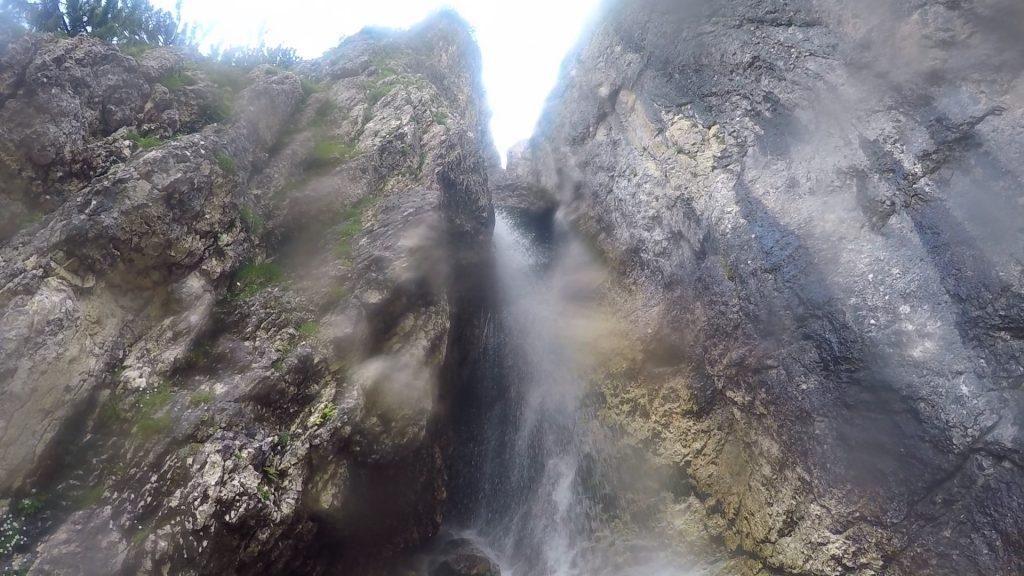 Pisciadù Waterfall (very moistly)