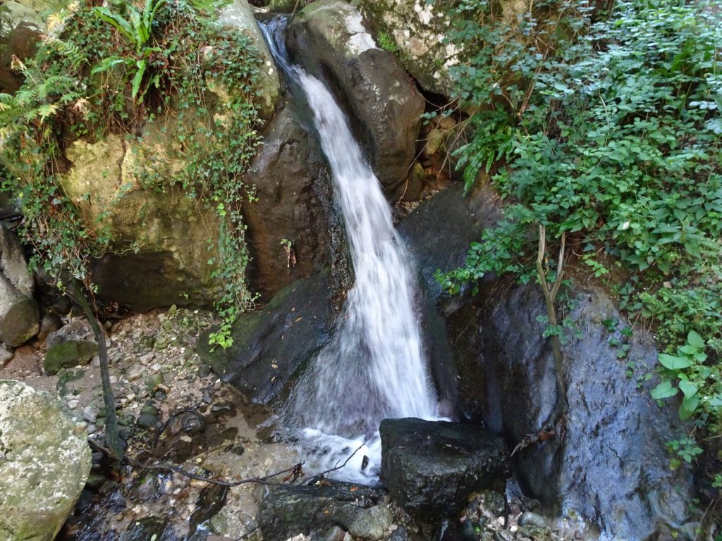 Waterfall marks the beginning of the second part