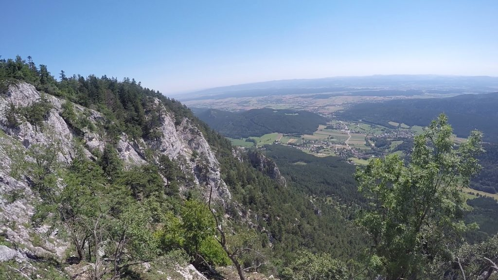 Wagnersteig: View from the trail