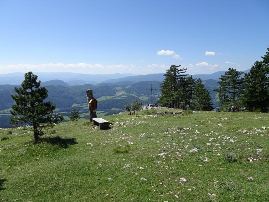 """At the summit of """"Große Kanzel"""" (next to Wagnersteig, Eicherthütte)"""