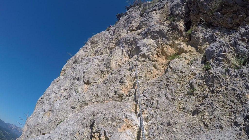 """GV-Steig: The """"Weningerwand"""" ((3), B/C)"""