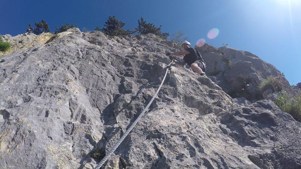 "GV-Steig: At the ""Weningerwand"" (C/D)"
