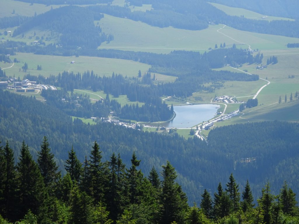 "View towards ""Teichalm"" from the top"